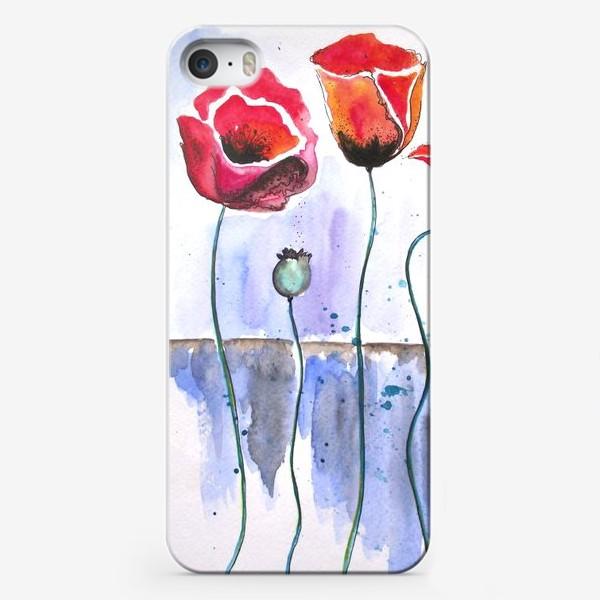 Чехол iPhone «Маки в воде»