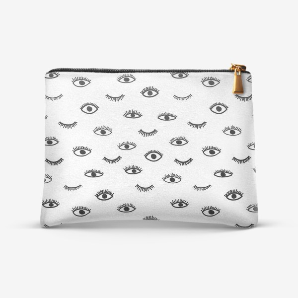 Косметичка «Глаза в стиле бохо»