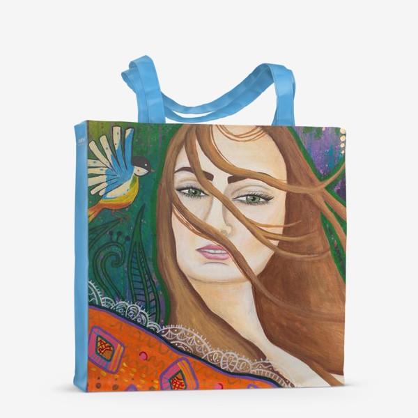 Сумка-шоппер «Слушай ветер»