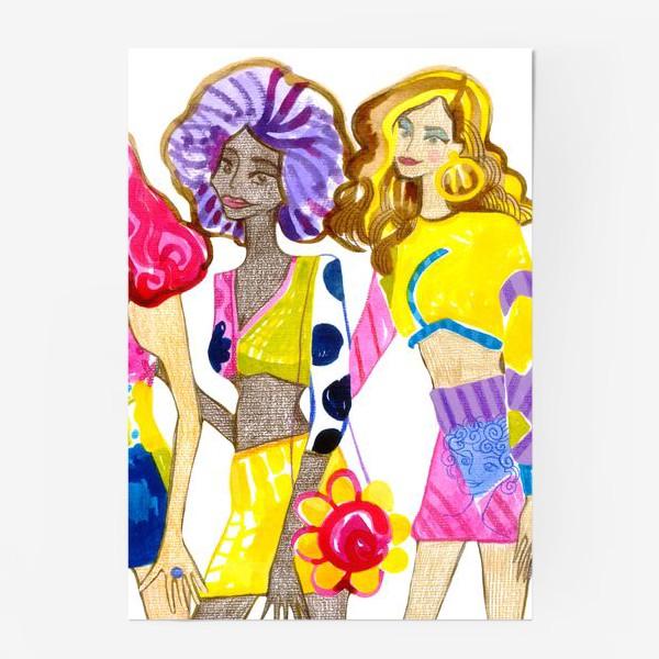 Постер «Девченки»