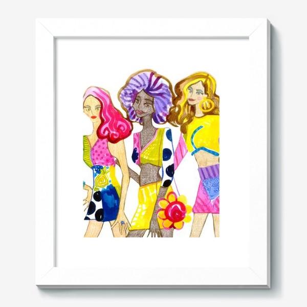 Картина «Девченки»
