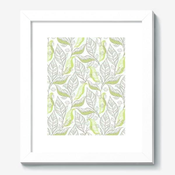 Картина «Молодые листья»
