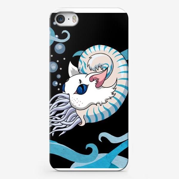 Чехол iPhone «Мяутилус»