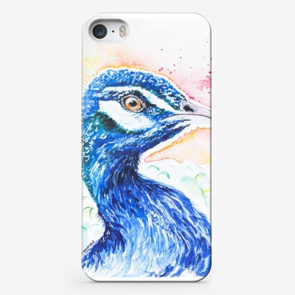 Чехол iPhone «Птица Павлин»