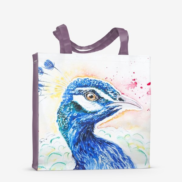 Сумка-шоппер «Птица Павлин»