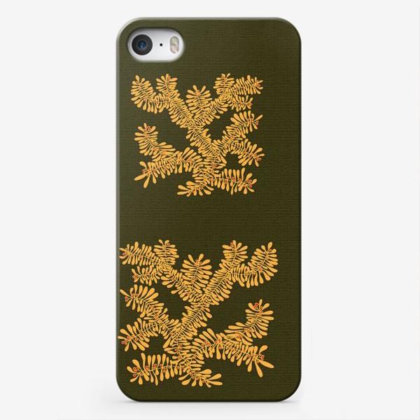 Чехол iPhone «Ветка 3»
