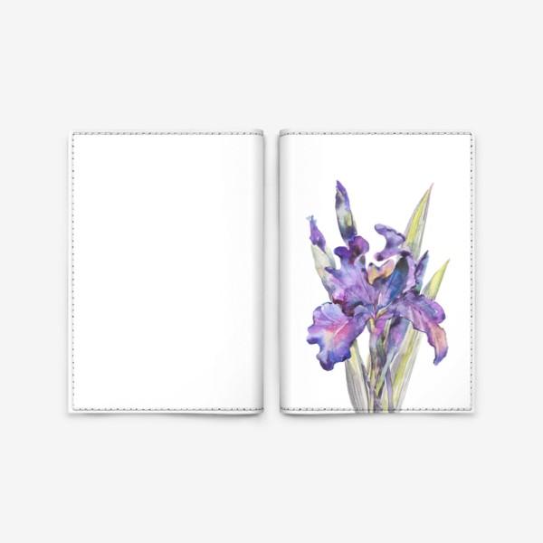 Обложка для паспорта «Ирис»