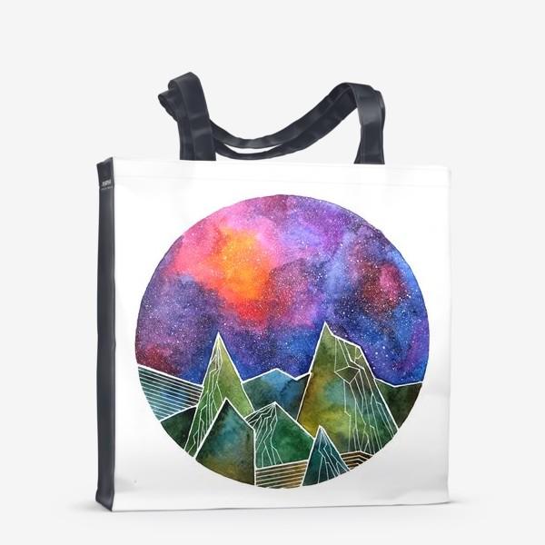 Сумка-шоппер «Space mountains»