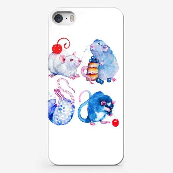 Чехол iPhone «Сладкие Крысы»