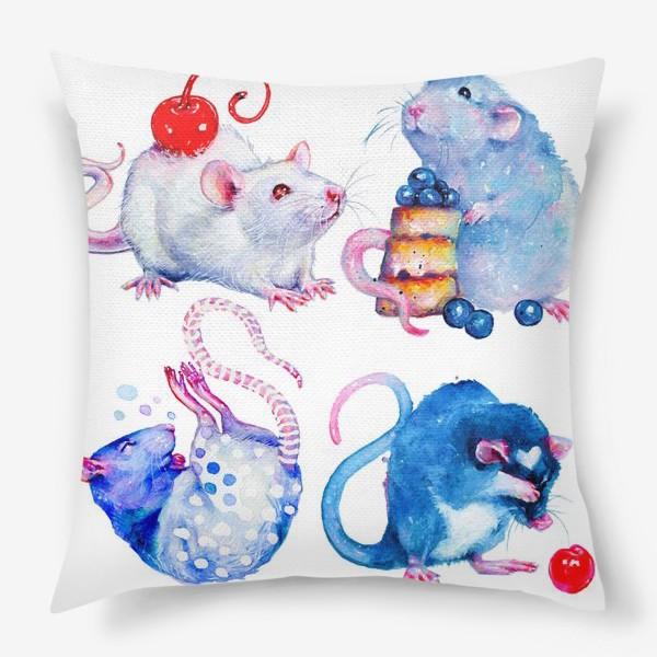 Подушка «Сладкие Крысы»