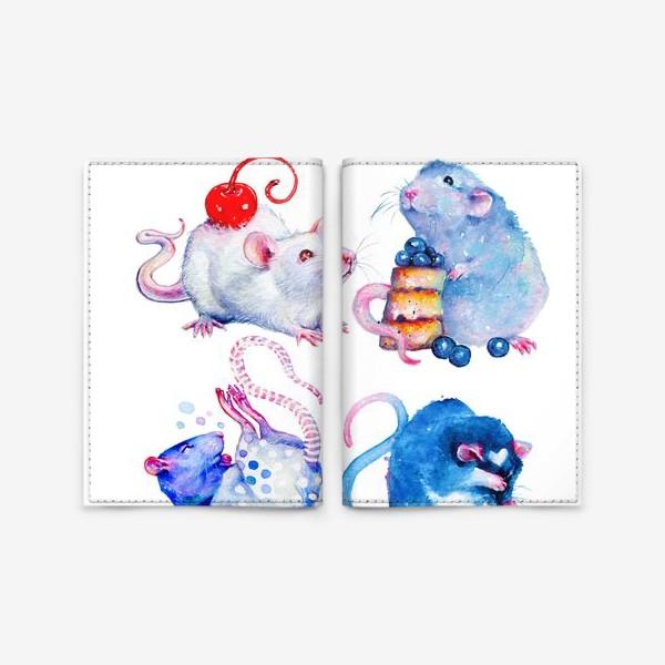 Обложка для паспорта «Сладкие Крысы»