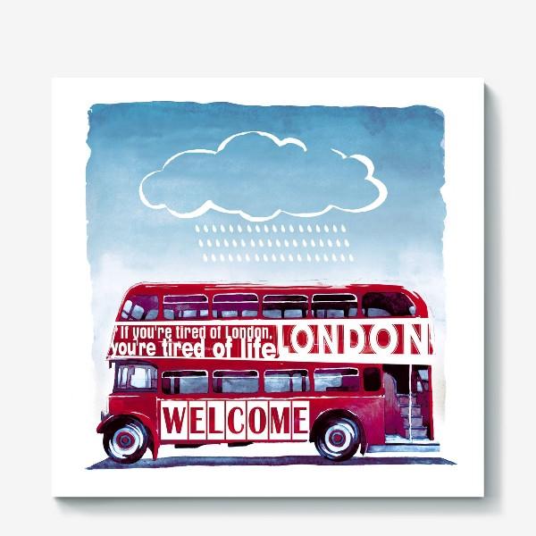 Холст «London Bus»