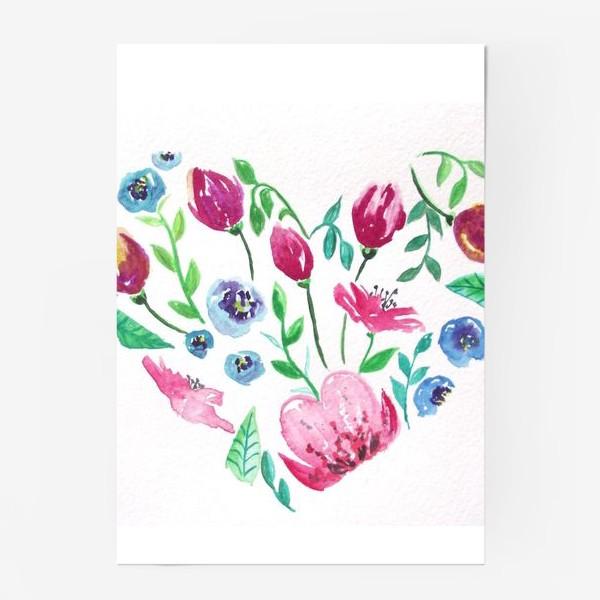 Постер «Цветущее сердце»