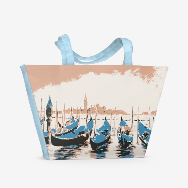 Пляжная сумка «Венеция. Италия.»