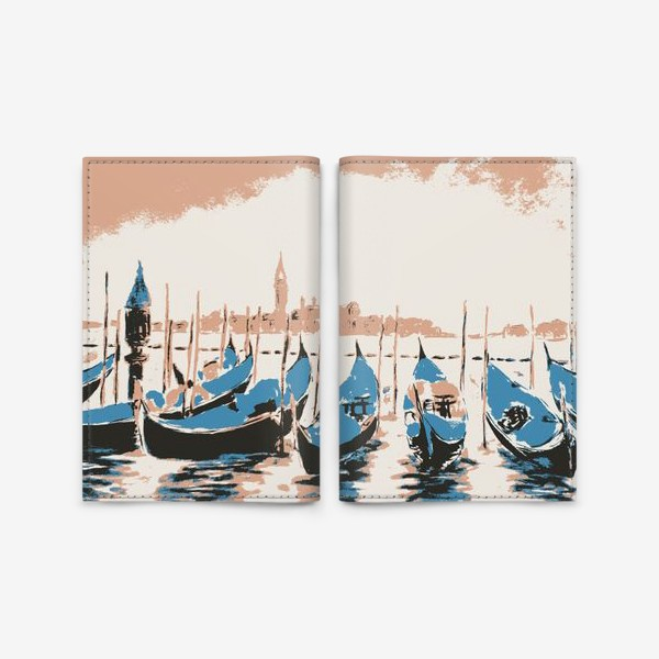 Обложка для паспорта «Венеция. Италия.»