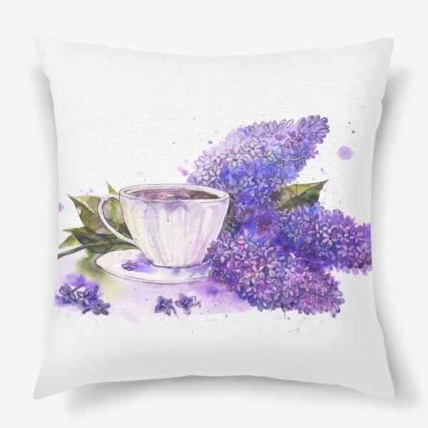 Подушка «Чай с сиренью»