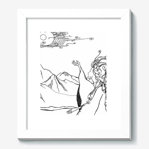 Картина «Дева »