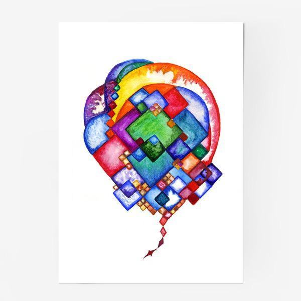 Постер «Рождение идеи»