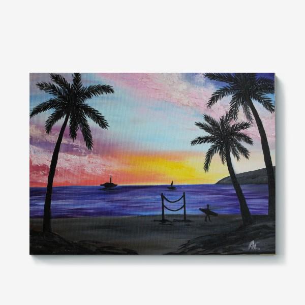 Холст «Гавайи»