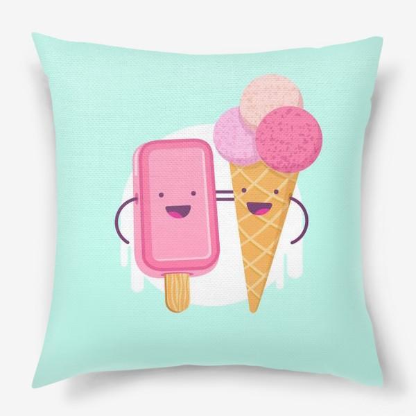 Подушка «М-м-мороженое»