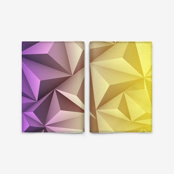 Обложка для паспорта «треугольники»