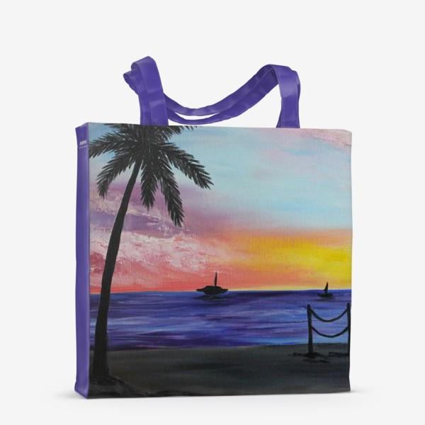 Сумка-шоппер «Гавайи»