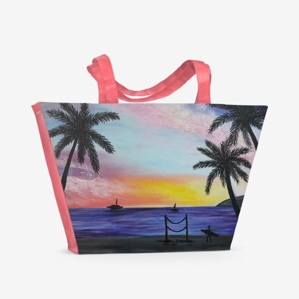 Пляжная сумка «Гавайи»