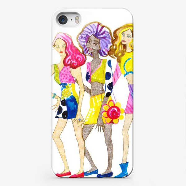 Чехол iPhone «Девченки»