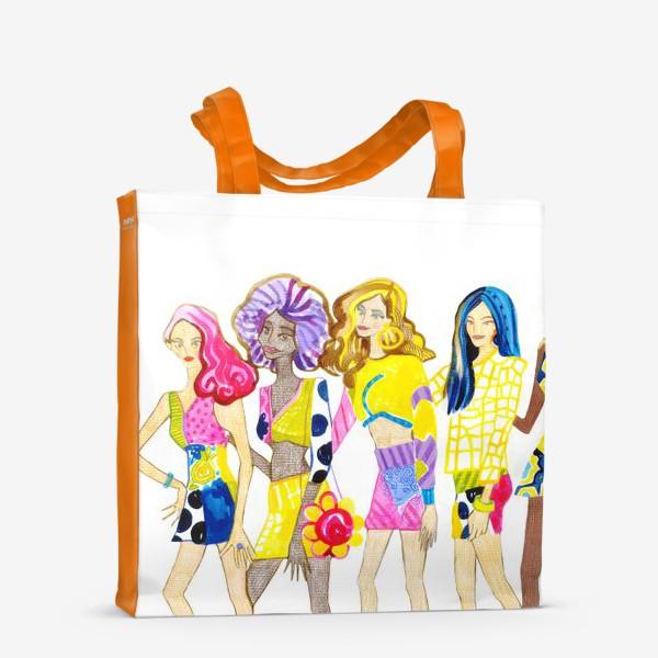 Сумка-шоппер «Девченки»