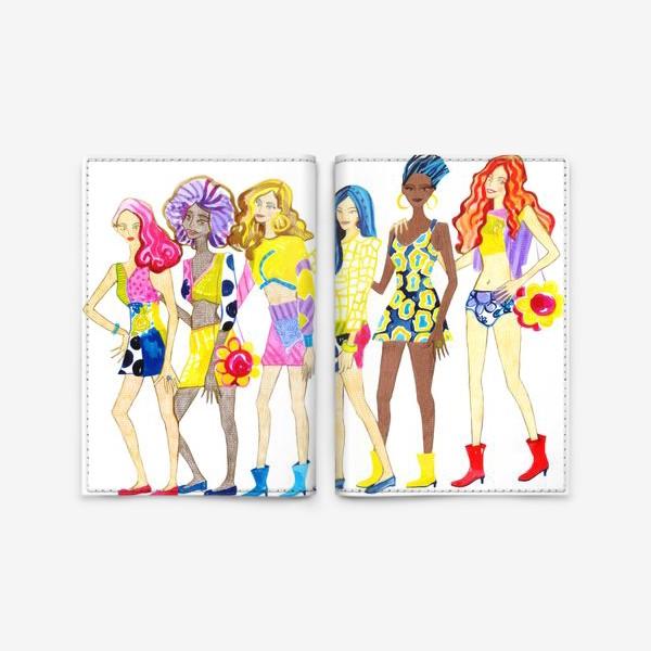 Обложка для паспорта «Девченки»