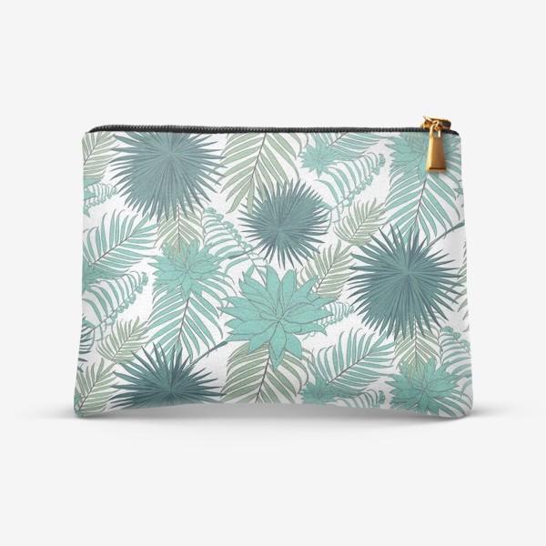 Косметичка «Узор из пальмовых ветвей»