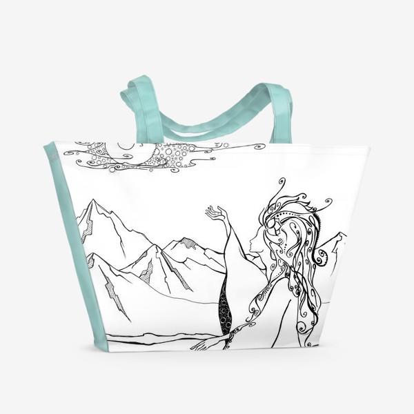 Пляжная сумка «Дева »