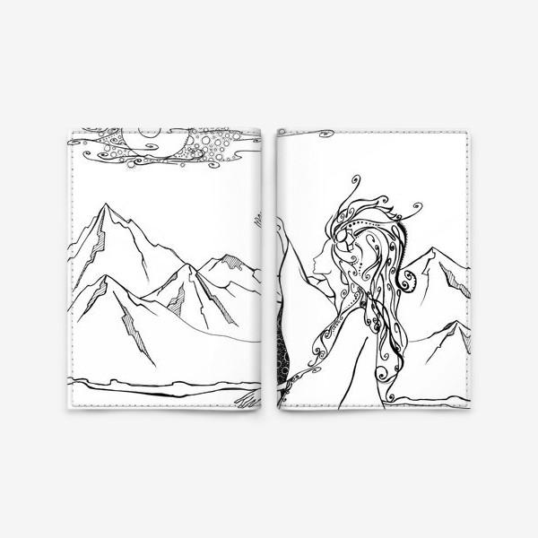 Обложка для паспорта «Дева »