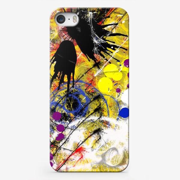 Чехол iPhone «Пятна и брызги краски»