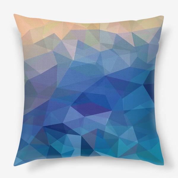 Подушка «Многоугольники3/Polygons3»