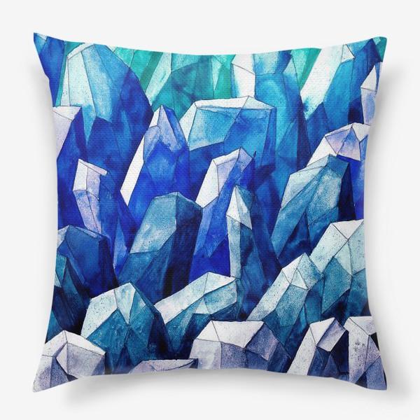 Подушка «Ледяные Кристаллы»