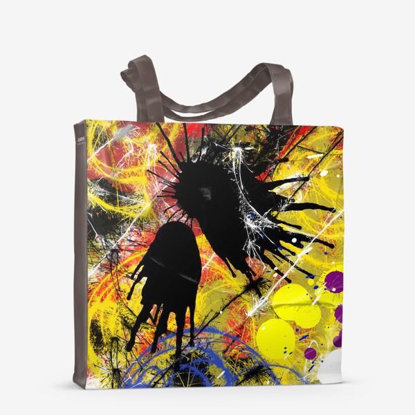 Сумка-шоппер «Пятна и брызги краски»
