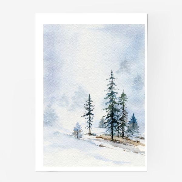 Постер «Тихая зима»