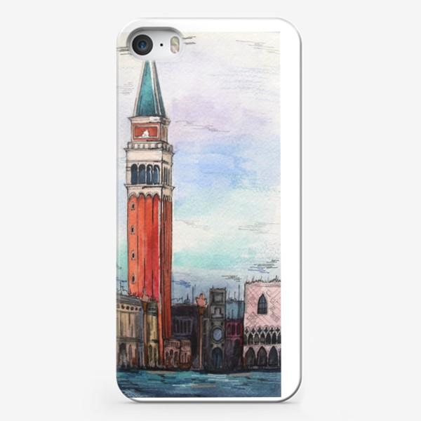 Чехол iPhone «Венеция/Кампанила Сан-Марко»