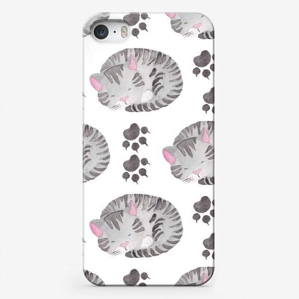 Чехол iPhone «Отдыхающая Кошка»