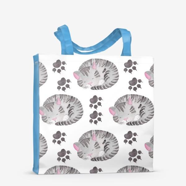 Сумка-шоппер «Отдыхающая Кошка»