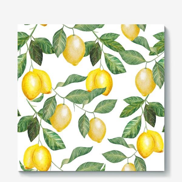 Холст «Лимонад»