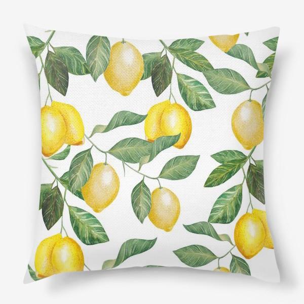 Подушка «Лимонад»