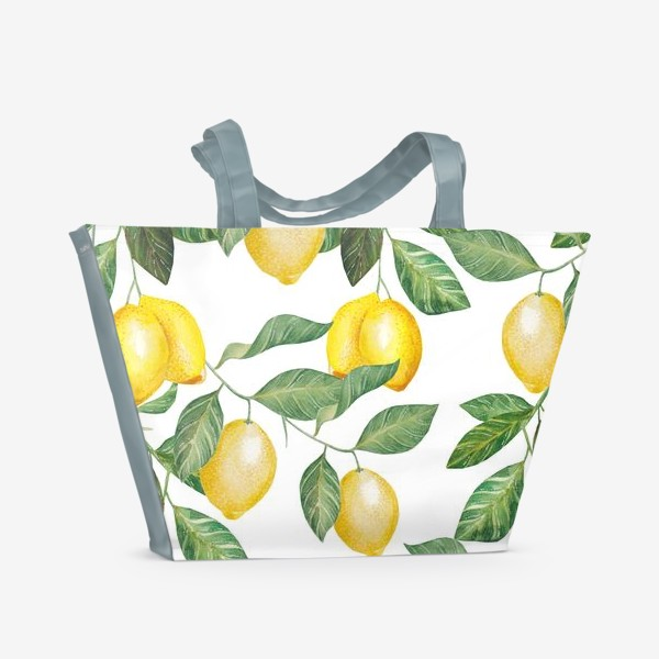 Пляжная сумка «Лимонад»