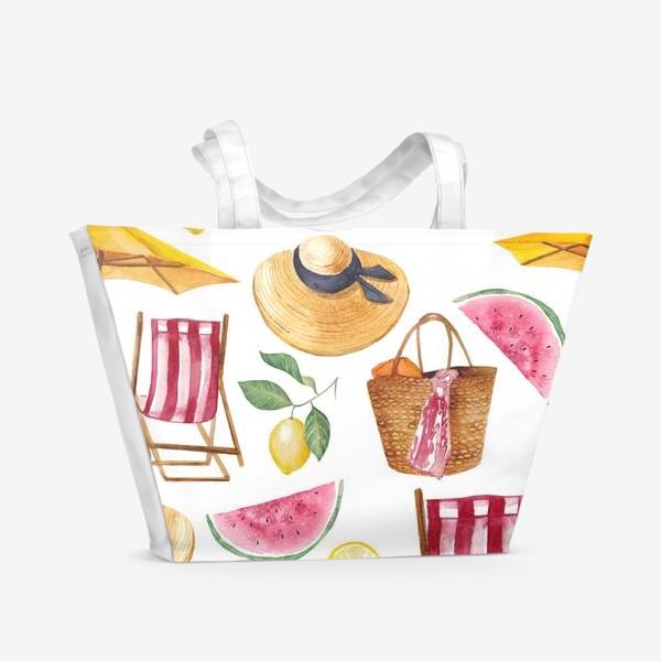 Пляжная сумка «Пляжные мечты»
