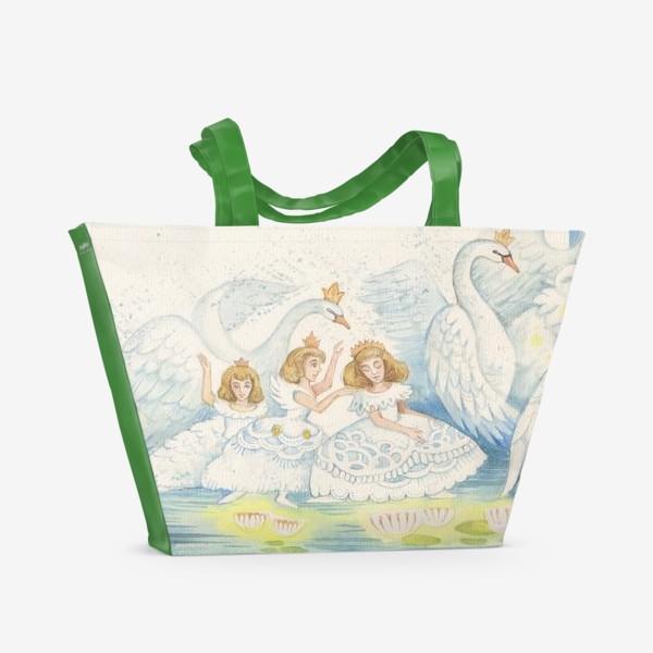 Пляжная сумка «Лебединое озеро»