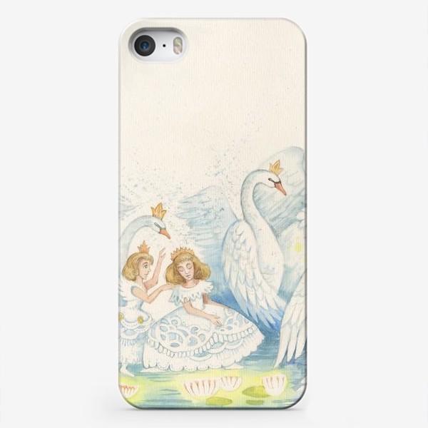Чехол iPhone «Лебединое озеро»