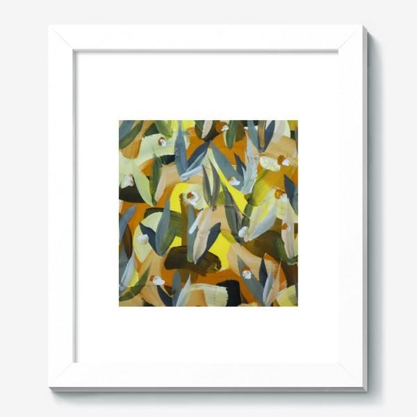 Картина «Осенний желтый мотив 2»
