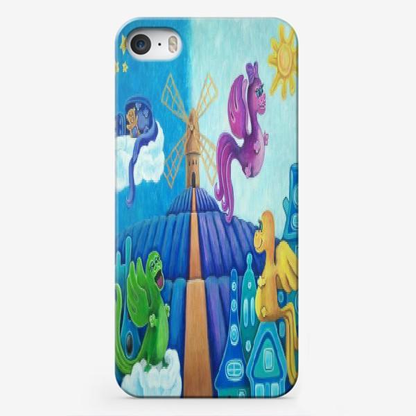 Чехол iPhone «Милые дракончики.»