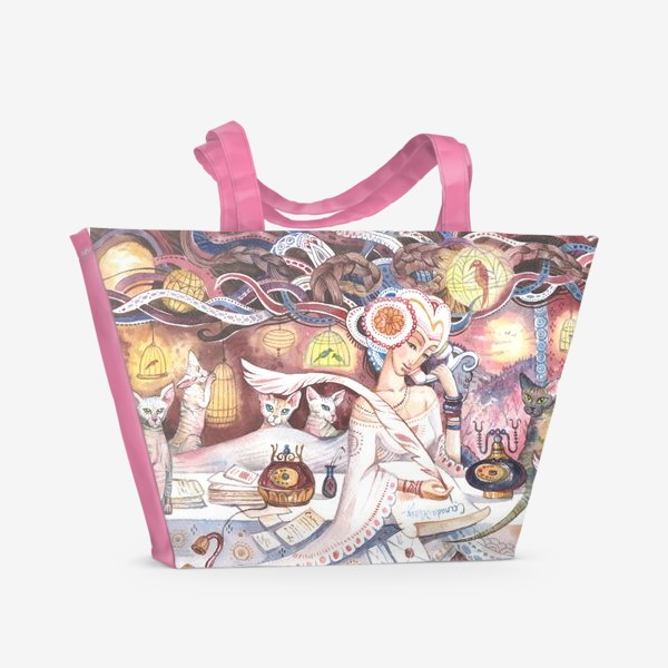 Пляжная сумка «сфинксы»
